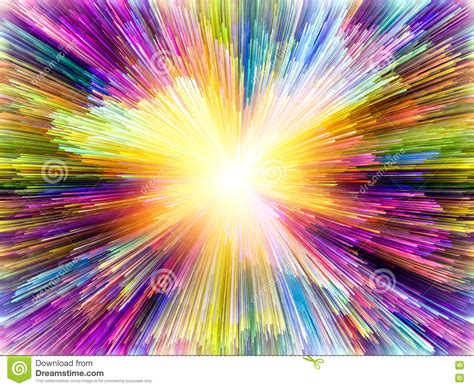 energizing colors energy of colors stock illustration image 72475922