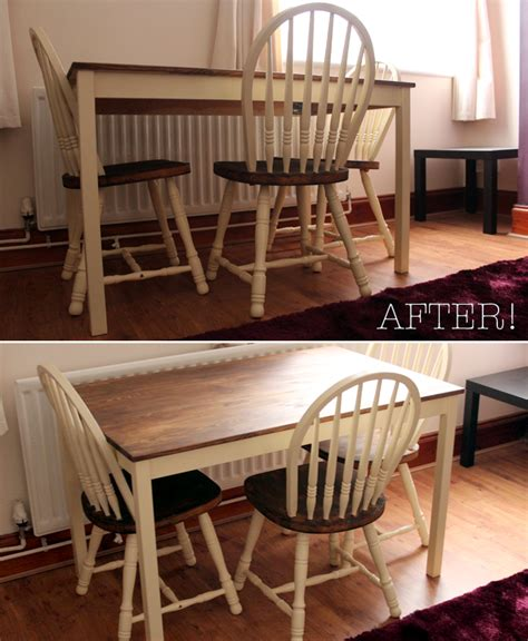 Dining Table Upcycle Ideas Sailboat Home Upcycling A Dining Table And Chairs
