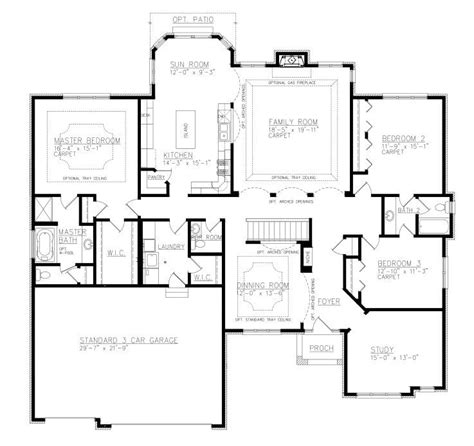 1 House Plans With And Bathroom
