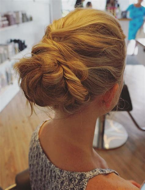 hairstyles blonde mesh chignon 50 bridal styles for long hair