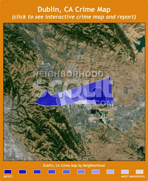 dublin california map dublin ca 94568 crime rates and crime statistics