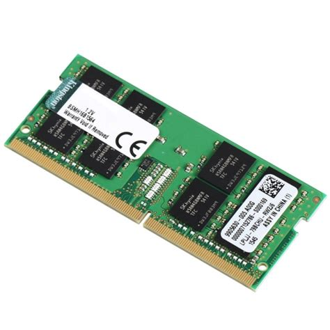 kingston hp kth pn424e 8g 8gb ddr4 2400mhz ecc unbufferred memory ram sodimm