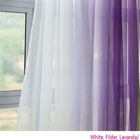 Lavender Sheer Curtains Voile Silk Sheer Curtains