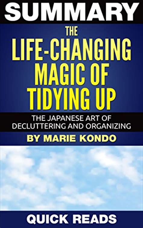 marie kondo summary pdf epub download the life changing magic of tidying up