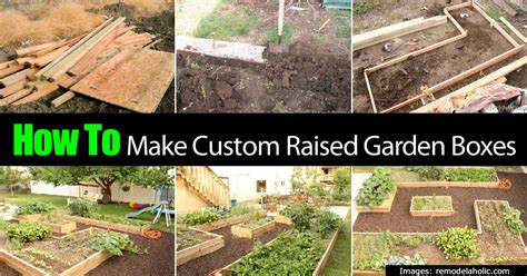 how to make a raised vegetable garden box how to make a garden box allaboutdiycom planter boxes for