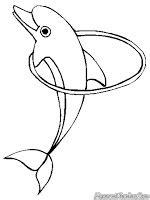 Mewarnai Ikan Lumba-Lumba | Mewarnai Gambar