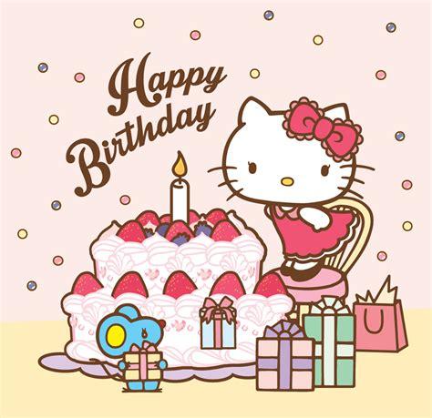sanrio hello happy birthday hello