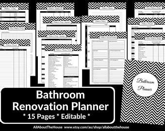 bathroom budget planner remodel budget improvement project budget template for home
