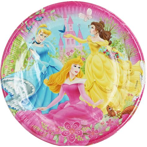 disney princess plates pack of 10 supplies at the works