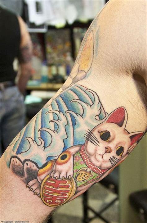 tattoo cat lucky best 20 lucky cat tattoo ideas on pinterest