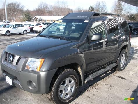 grey nissan xterra 2008 night armor dark gray nissan xterra s 4x4 2964186