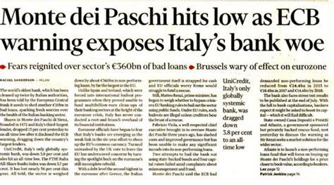 banche a siena la ricapitalizzazione dello stato in arrivo per il monte