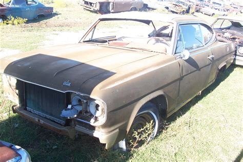 1966 rambler car 1966 amc rambler marlin parts car 2