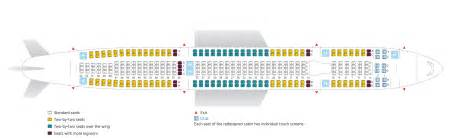 air canada a333 seat map airbus a330 300 our fleet air transat