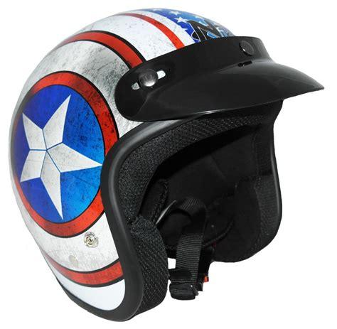 Jet Helm Aufkleber by Nikko Motorrad Roller Scooter Jet Helm Blau Rot Wei 223 Mit