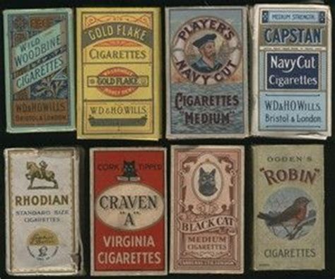 Paket 2 In1 collection of vintage cigarette packets wills woodbine