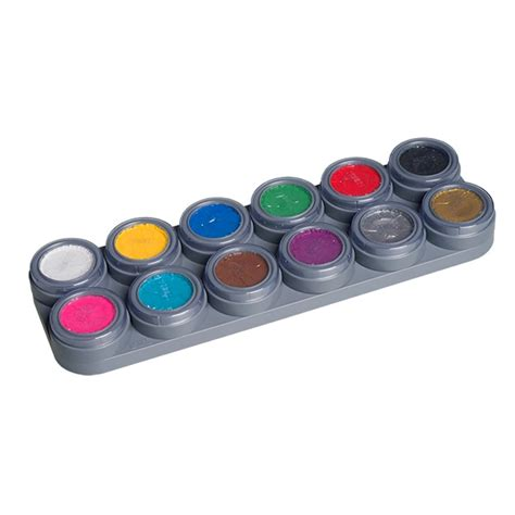 Bodypaint Palette grimas water make up bodypainting farbe k 246 rperfarbe 12