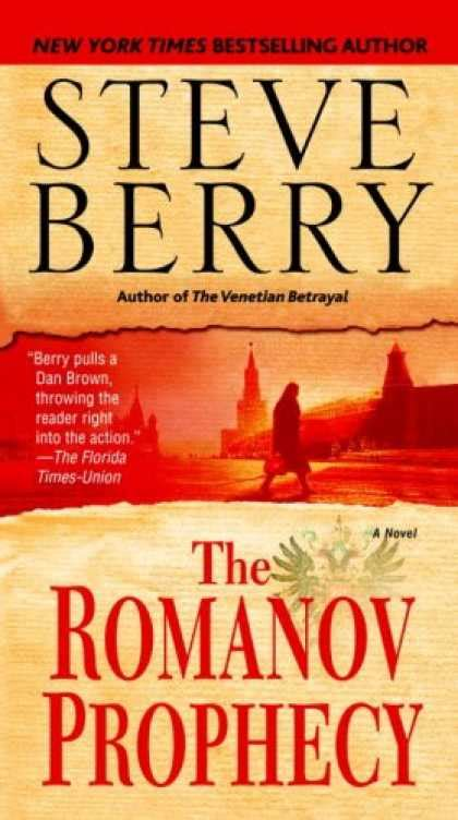 The Romanov Prophecy By Steve Berry bestselling mystery thriller 2008 covers 400 449