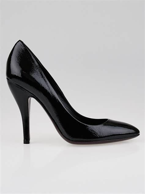 black patent leather pumps gucci black patent leather pumps size 7 37 5 yoogi s closet