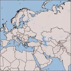 Europe And Asia Outline by Blank Map Of Europe Asia And Africa