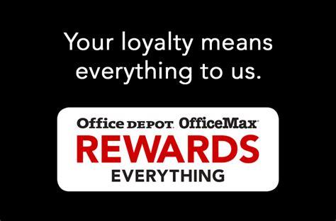 Office Depot Rewards Exclusive Savings Only For Rewards Program