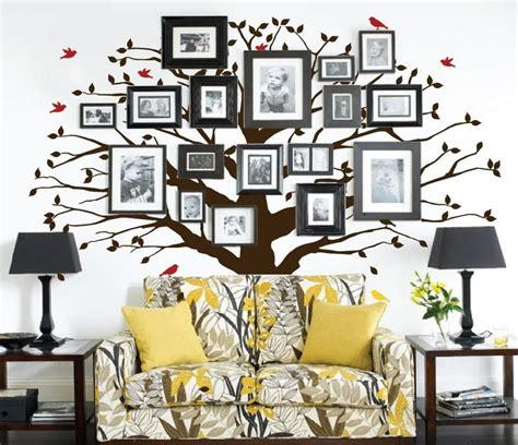 large wall tree nursery decal oak branches 1130 family tree wall decal oak large decal 1233