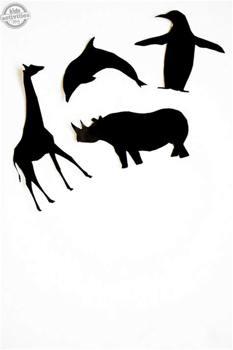 free shadow puppet templates printable animal shadow puppets