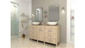 ordinary Vasque Double Salle De Bain #1: meuble-de-salle-de-bain-design-double-vasque-chene-clair-balboa.jpg