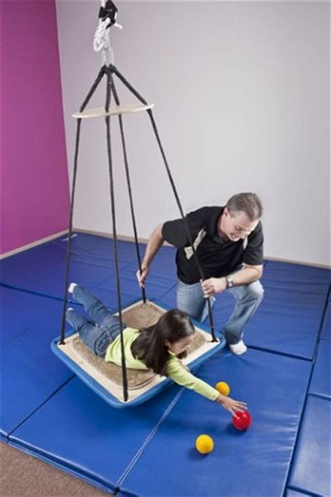 net swing for occupational therapy vestibular therapeutic swings balance therapy indoor