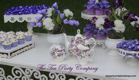 purple lavender wedding candy buffet the tea party company