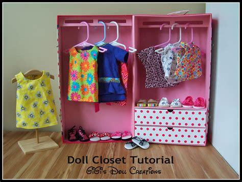 gigi s doll and craft creations american doll closet