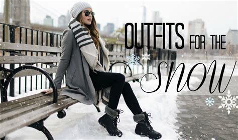Style Snow Fabsugar Want Need by For The Snow What To Wear When It S Cold