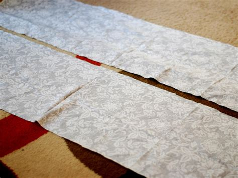 how to cover an ottoman with fabric how to re cover an upholstered ottoman how tos diy