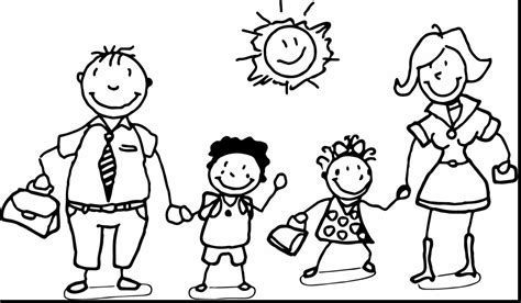 preschool coloring pages my family family coloring pages jacb me