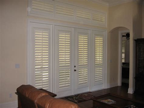 Shutter Blinds For Patio Doors by Plantation Shutters For Sliding Patio Doors Photo Album