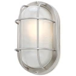 Galvanized Vases 11 Inch Oval Bulkhead Light 39956 Ss Destination Lighting