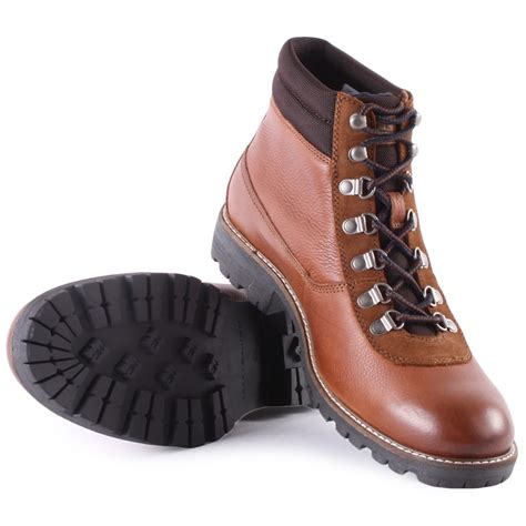 hilfiger s boots hilfiger houston 5a mens boots in cognac