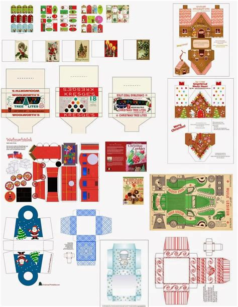 mini christmas tree printable 7032 best images about miniature printables on pinterest