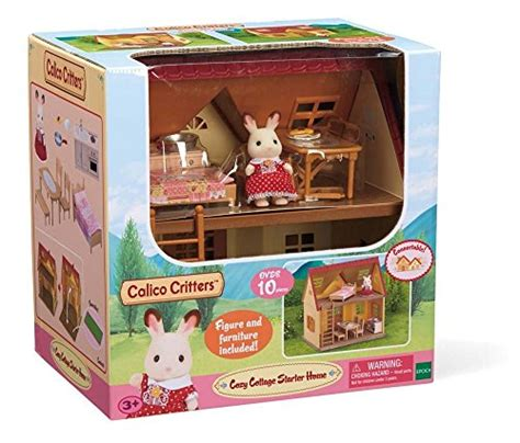 calico critter cozy cottage calico critters cozy cottage starter home import it all