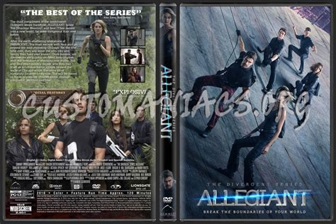 the divergent series allegiant dvd cover dvd covers