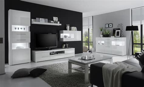 wohnzimmer wohnwand beautiful wohnzimmer weis hochglanz photos ideas