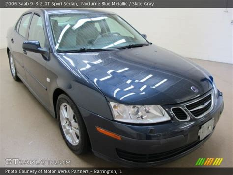 nocturne blue metallic 2006 saab 9 3 2 0t sport sedan