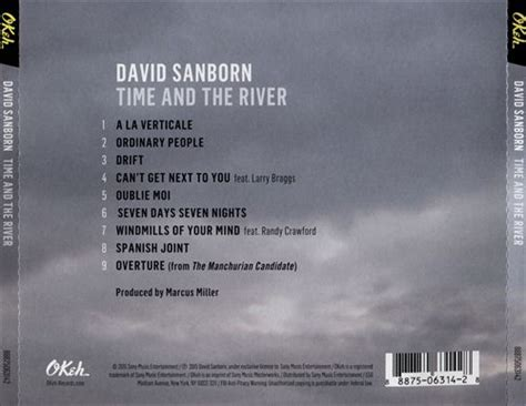 Cd David Sanborn Time And The River time and the river by david sanborn mp3 artistxite co uk