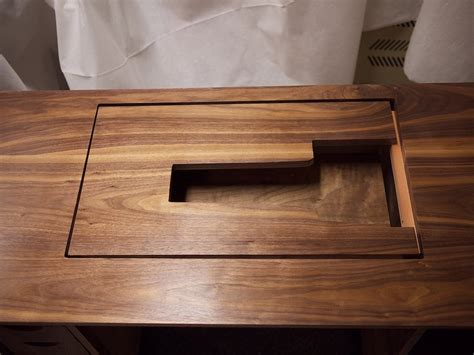 sewing table woodworking plans walnut sewing cabinet by astroguy lumberjocks