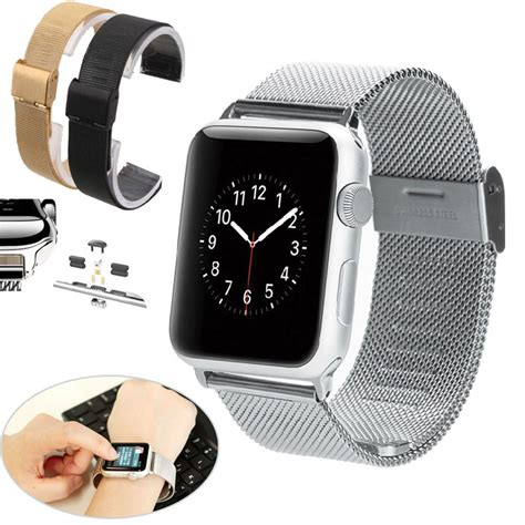 Apple Iwatch 38mm Stainless Steel 38mm 42mm milanese loop stainless steel mesh replacement band for apple iwatch in