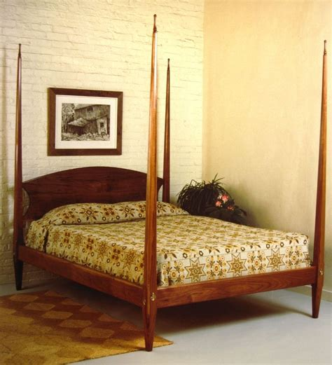 pencil post bed hand made pencil post bed by stephen adams fine furniture