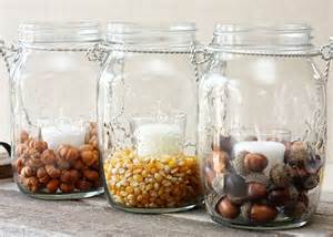 Acorn Vase Filler Diy Fall Decor With Hanging Mason Jars Live Laugh Rowe