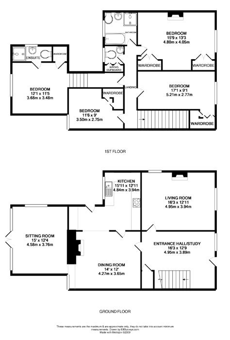 Kidlington Oxford Ox5 Ref 4894 Kidlington House Floor Plans 4 Bedrooms Uk
