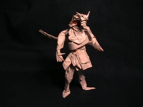 Origami Samurai Warrior - jason s ku s homepage