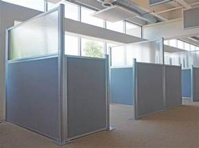office partition curtains the hush panels diy cubicle partitions are a wise choice